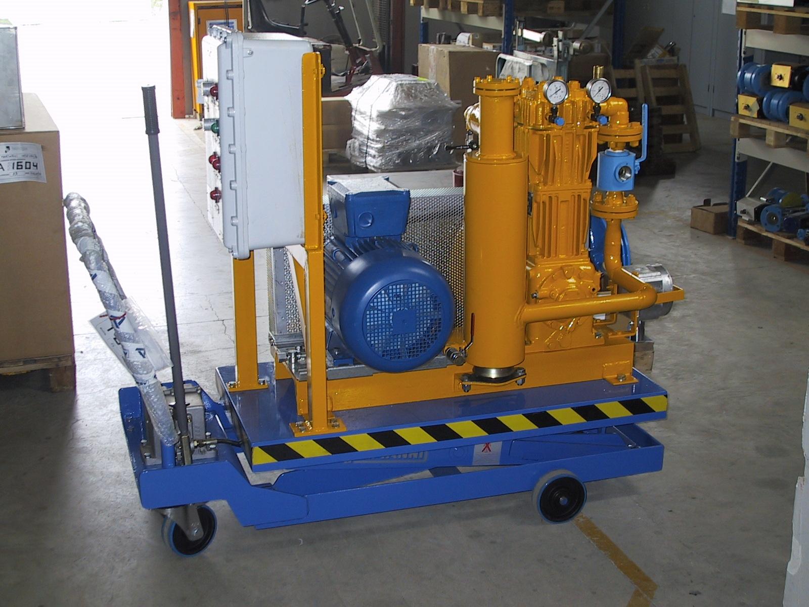 Compressore Impianto Tecnogas Gpl