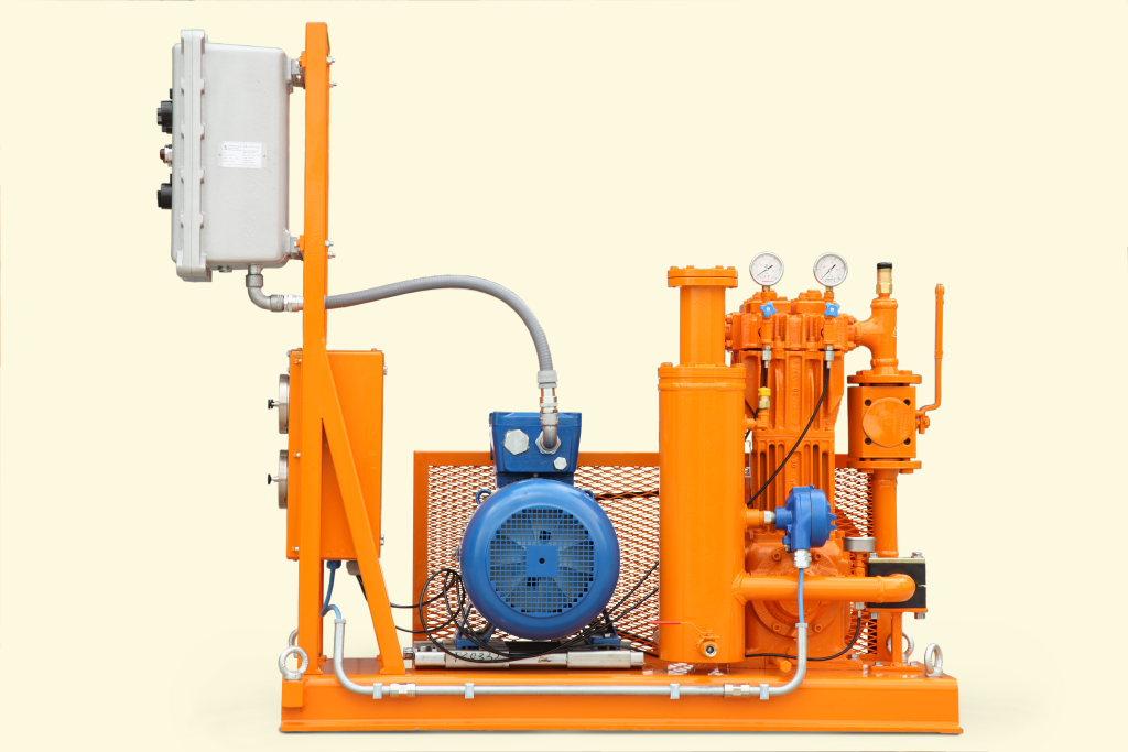 Compressore impianto Gpl Tecnogas