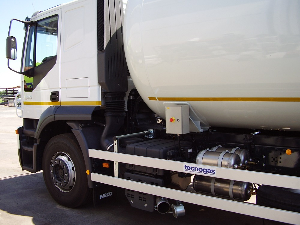 Camion Botte Bianco