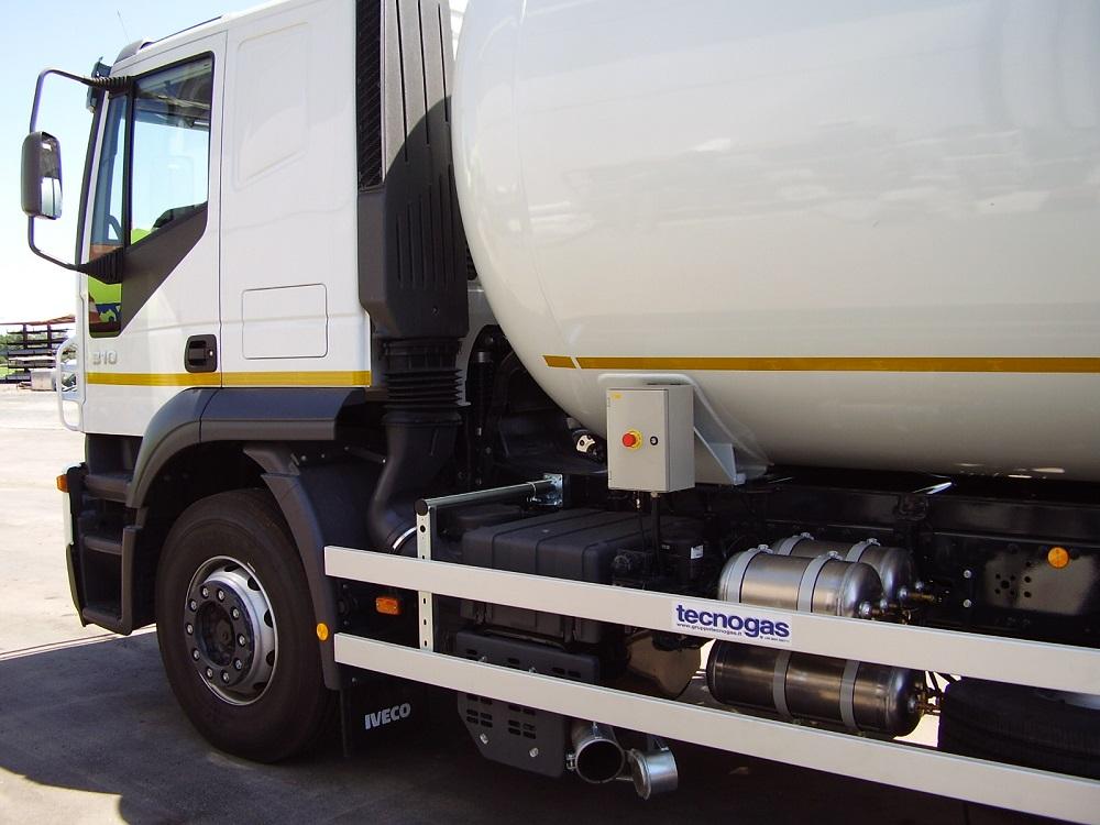 Camion Botte Bianco