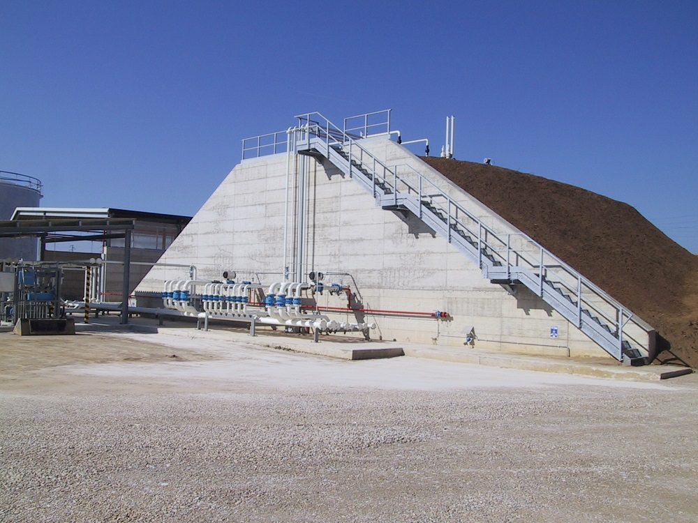 Impianto Tecnogas veduta esterna