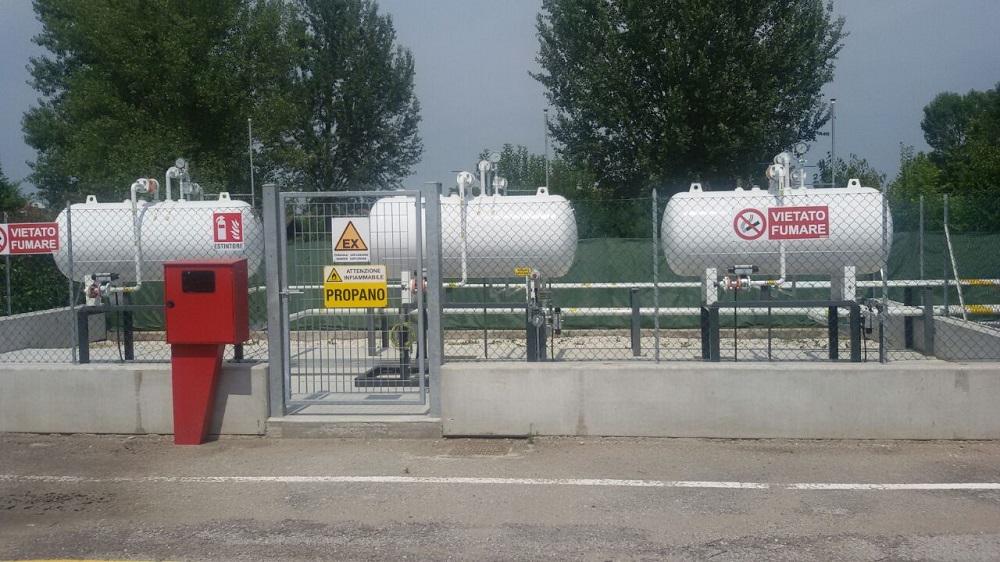 Bombole bianche per Gas Propano Gpl