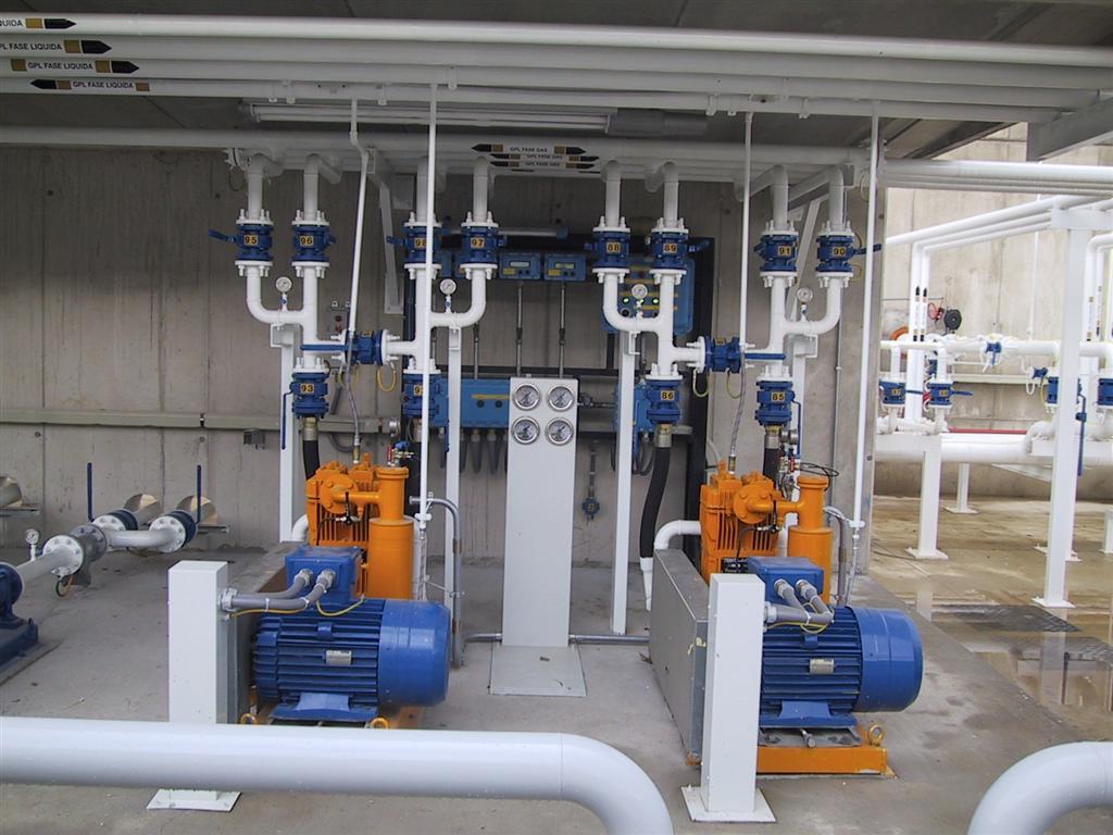 Compressori per impianto Tecnogas