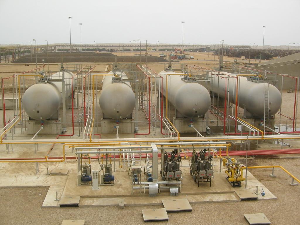 Cisterne 4 per stoccaggio gas Tecnogas
