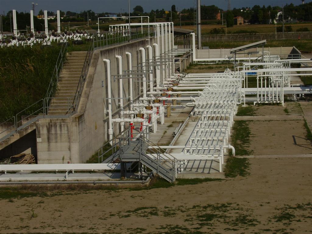Impianto gas veduta esterna Tecnogas