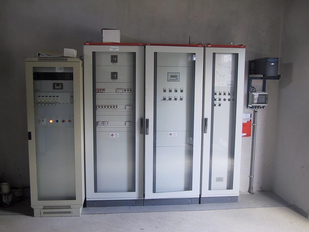Centrali elettriche di un impianto Tecnogas