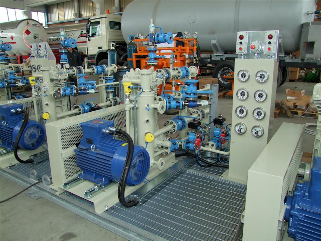 Impianto gas Tecnogas