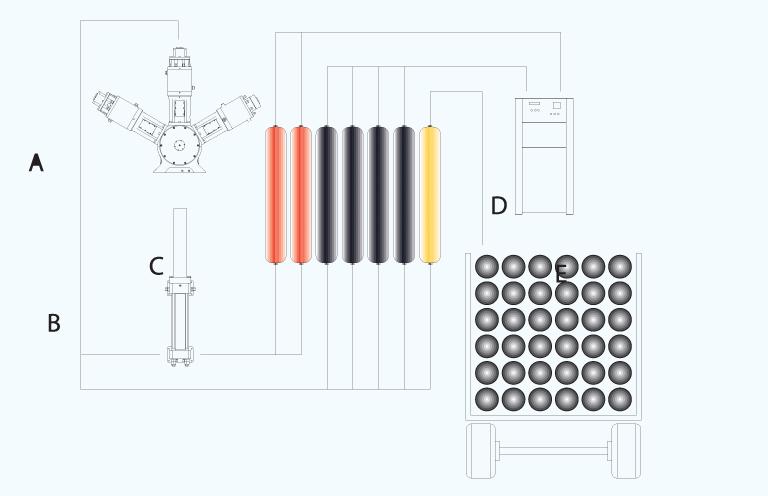 natural gas compressor station diagram