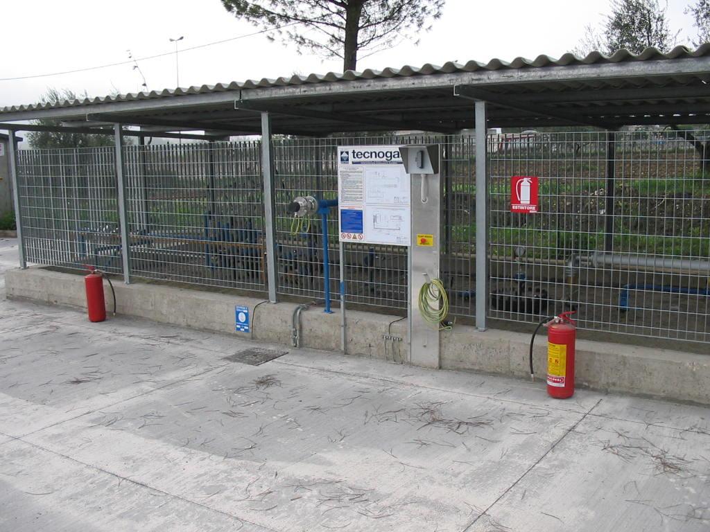 Impianto Tecnogas stazione di servizio