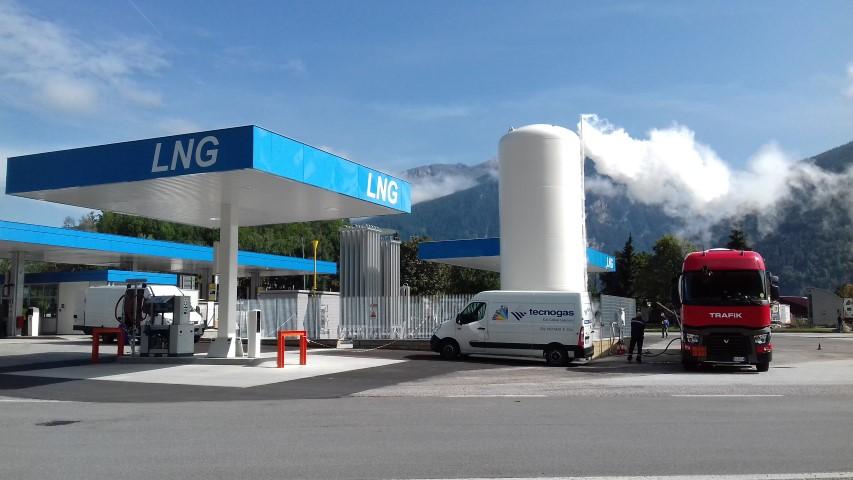 Nuove stazioni di servizio GNL